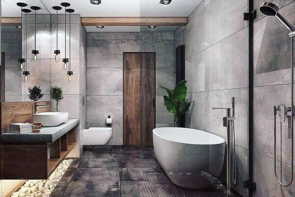 15 idéias de decoração de banheiro dentro do orçamento