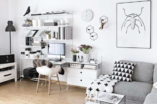 Dicas para converter um quarto em um escritório