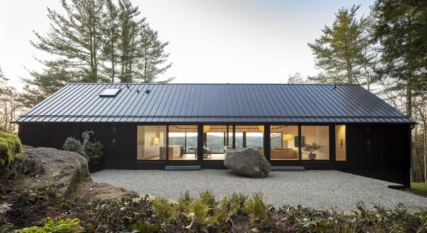 Estilos de telhado de metal: cores, tintas e destaques