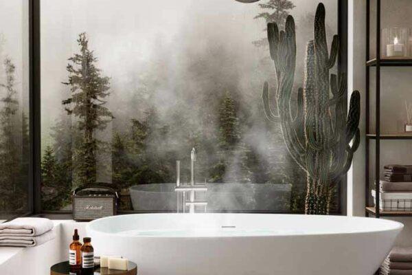 Chuveiros a vapor: como criar uma experiência de spa em casa de luxo