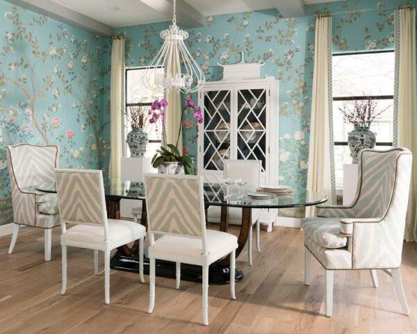 Crie uma sala de jantar com caixa de joias