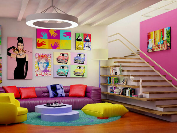 Escolhas dos editores: nossas salas de estar coloridas favoritas