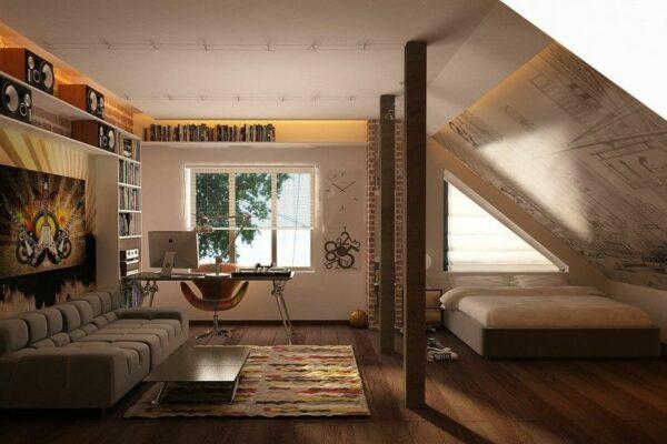 Ideias para quartos no sótão – adicione um fator surpreendente a qualquer quarto do loft em uma conversão
